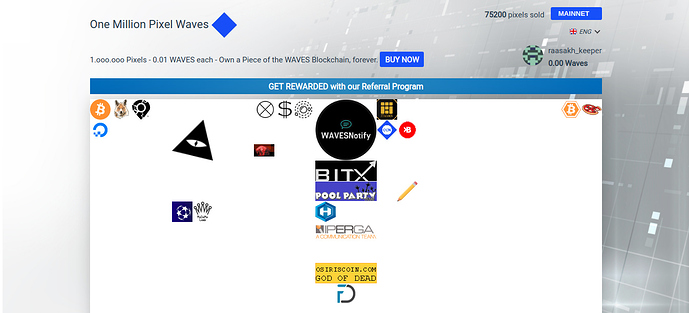 OUR%20PARTNER%20YouTubeCoin%E2%84%A2%20(YTB)%20One%20Million%20Pixel%20Waves