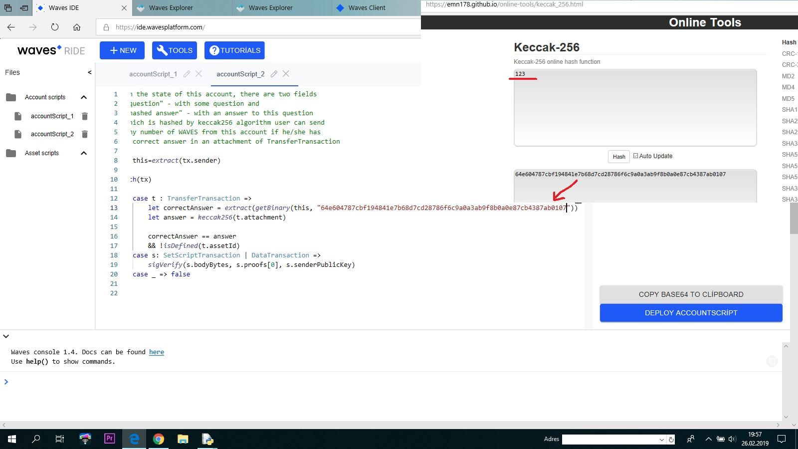 DevTools: IDE + REPL - Developers - Waves Community Forum